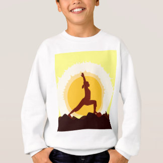 Yoga Sunset Sweatshirt