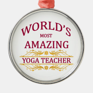 Yoga Teacher Christmas Ornament