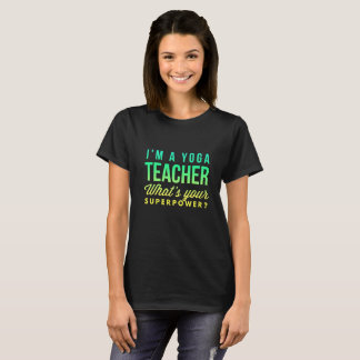 Yoga teacher T-Shirt