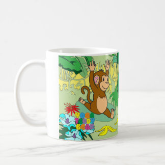 Yoga Teddy Bear Monkey Mug