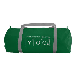 Yoga | The Element of Relaxation Gym Bag