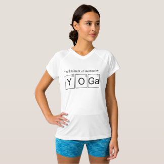 Yoga | The Element of Relaxation Sports Tshirt