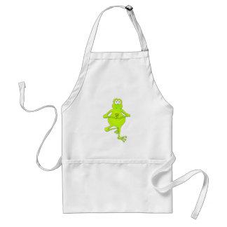 Yoga Tree Frog Standard Apron