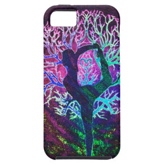 Yoga Tree Peace Rainbow Case For The iPhone 5