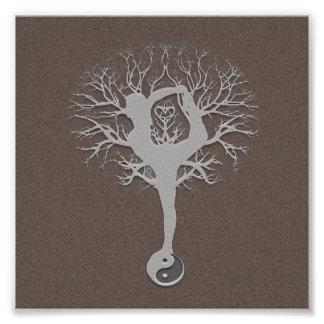 Yoga Tree Photo Print