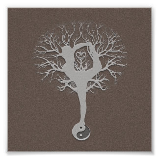 Yoga Tree Photographic Print