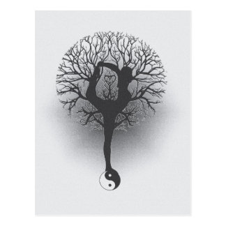 Yoga Tree Postcard