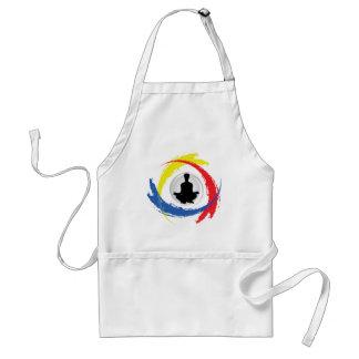 Yoga Tricolor Emblem Standard Apron