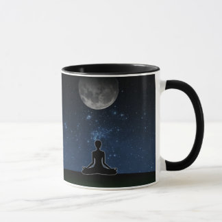 Yoga Under The Moon Mug