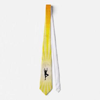Yoga Vrksasana Pose Tie