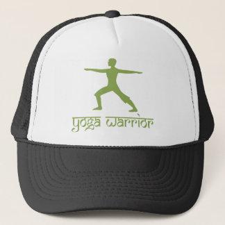 Yoga Warrior Pose Trucker Hat