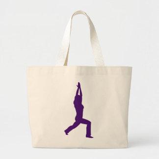 Yoga Warrior Pose Yoga Bag