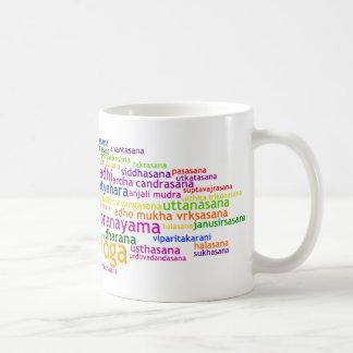Yoga Wordle Mugs