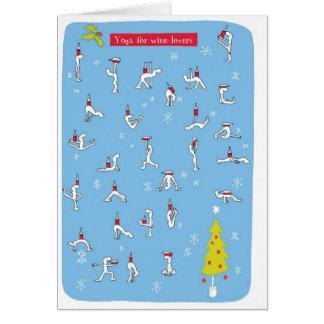yoga xmas card