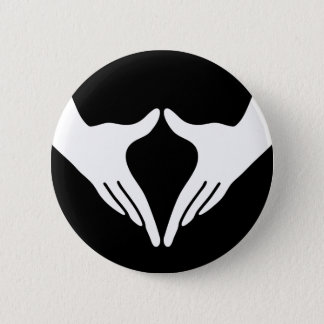Yoga Yoni Mudra 6 Cm Round Badge