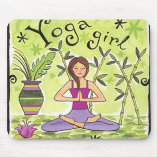 YogaGirl Mouse Pads
