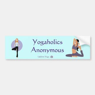 """Yogaholics Anonymous"" sticker"