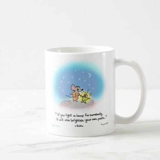 Yogi mouse/firefly mugs