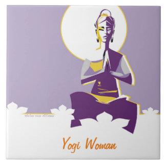 Yogi Woman Tile