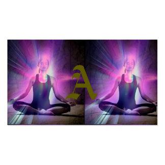 Yogi,yoga,chakra,aura,chakras,energy,colors,chi, Business Card
