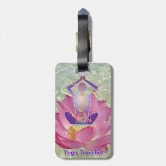 Yogic Traveller Luggage Tag