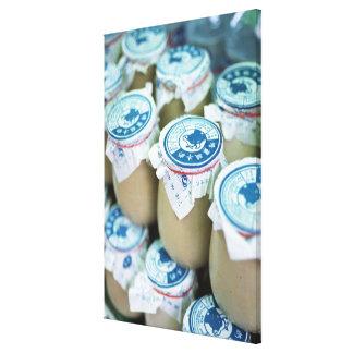 Yogurt Canvas Print