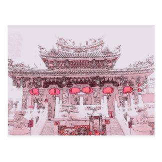 Yokohama Chinatown Postcard