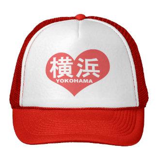 Yokohama Heart Mesh Hats