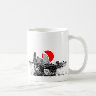 Yokohama Japan Coffee Mugs