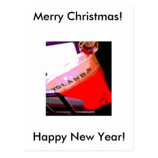 Yolanda Christmas Post Cards