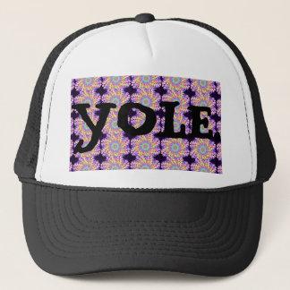 YOLE. Mandala hat. Trucker Hat
