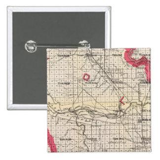 Yolo County, California 15 Cm Square Badge