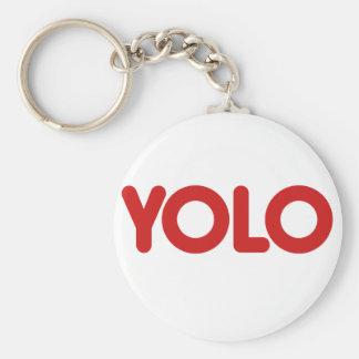 YOLO KEY RING