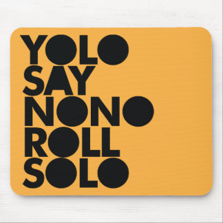 YOLO Roll Solo Filled Mouse Mat