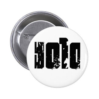 Yolo -- T-Shirt 6 Cm Round Badge