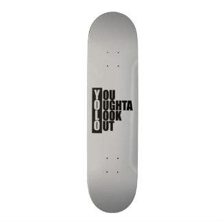 YOLO Vertical Box 21.6 Cm Skateboard Deck