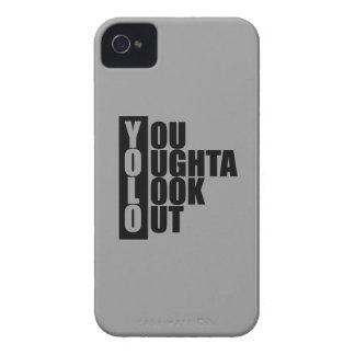 YOLO Vertical Box iPhone 4 Case-Mate Cases