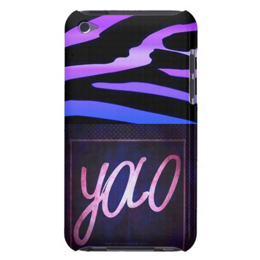 YOLO with Zebra iPod Touch Case-Mate Case