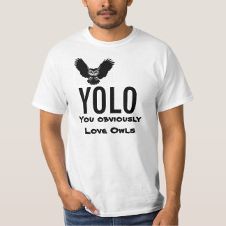 Yolo 'You Obviously Love Owls' T-Shirt