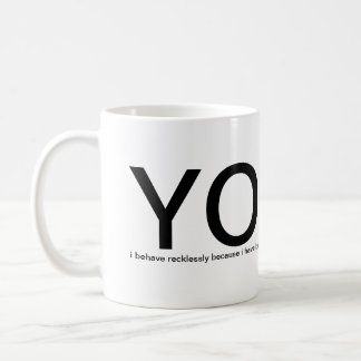YOLO - You Only Live Once! please help me Coffee Mug