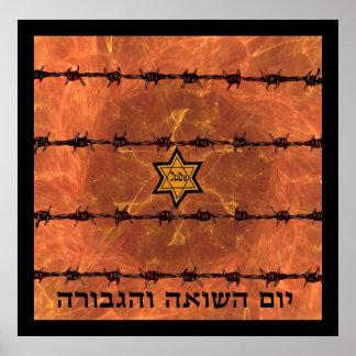 Yom Hashoah Poster
