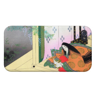 Yomogyu The Tale of Genji japanese lady scenery iPhone 4/4S Cases