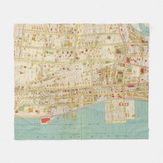 Yonkers Atlas Fleece Blanket