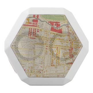 Yonkers Atlas Map 2 White Boombot Rex Bluetooth Speaker