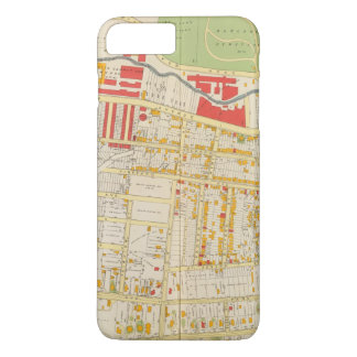 Yonkers Atlas Map 2 iPhone 8 Plus/7 Plus Case