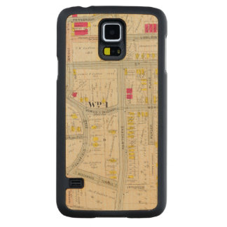 Yonkers Map Atlas Carved Maple Galaxy S5 Case