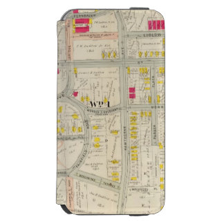 Yonkers Map Atlas Incipio Watson™ iPhone 6 Wallet Case