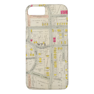 Yonkers Map Atlas iPhone 8/7 Case