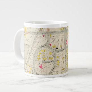 Yonkers Map Atlas Large Coffee Mug