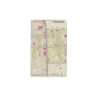 Yonkers Map Atlas Pocket Moleskine Notebook